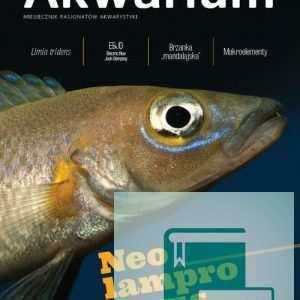 Okładka Magazyn Akwarium czasopismo 5/2016