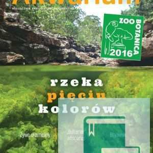 Okładka Magazyn Akwarium czasopismo 8-9/2016