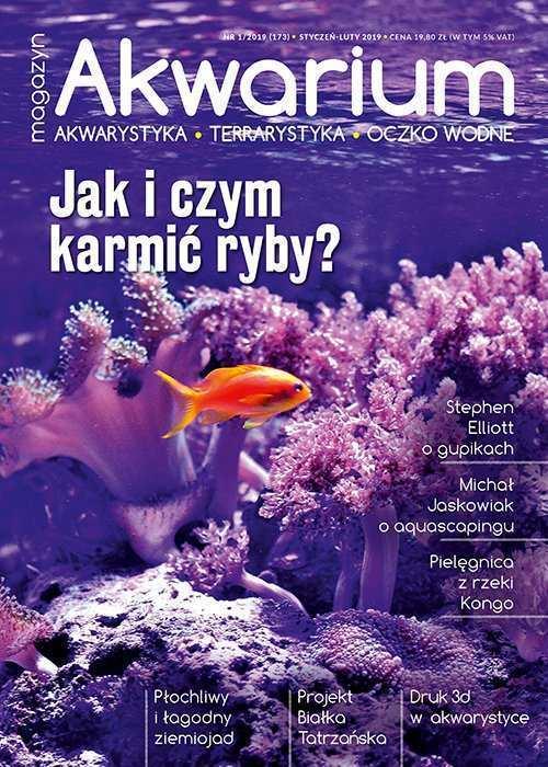 Magazyn Akwarium czasopismo 1/2019