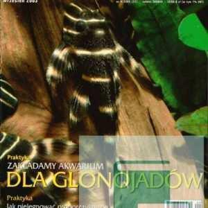 Okładka Magazyn Akwarium czasopismo 9/2003