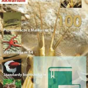 Okładka Magazyn Akwarium czasopismo 11/2010