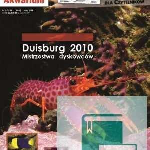 Okładka Magazyn Akwarium czasopismo 5/2011