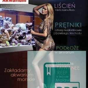 Okładka Magazyn Akwarium czasopismo 11/2011
