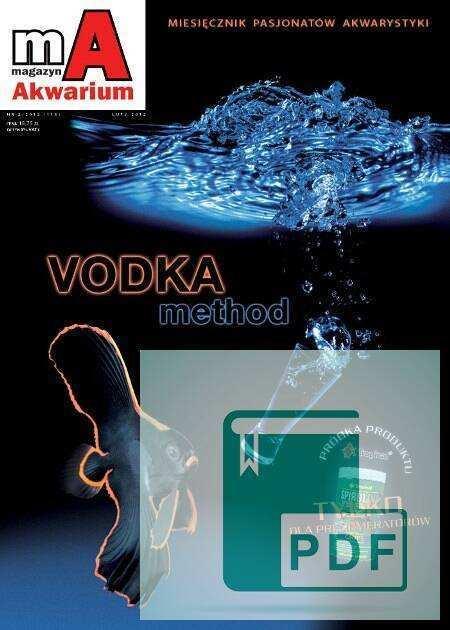 Okładka Magazyn Akwarium czasopismo 2/2012