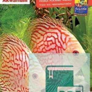 Okładka Magazyn Akwarium czasopismo 3/2012