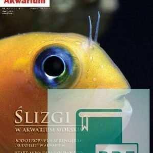 Okładka Magazyn Akwarium czasopismo 4/2012