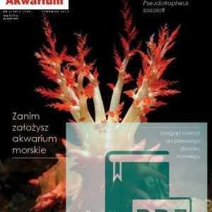 Okładka Magazyn Akwarium czasopismo 6/2012
