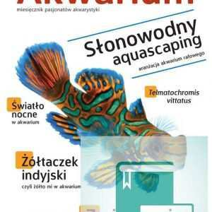 Okładka Magazyn Akwarium czasopismo 1/2014