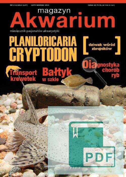 Okładka Magazyn Akwarium czasopismo 2-3/2014