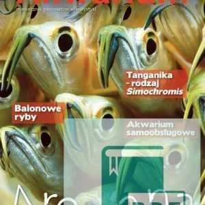 Okładka Magazyn Akwarium czasopismo 7-8/2014