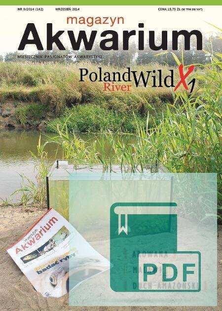 Okładka Magazyn Akwarium czasopismo 9/2014