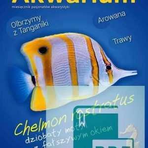 Okładka Magazyn Akwarium czasopismo 10/2014
