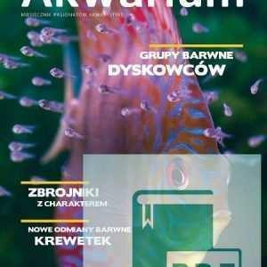 Okładka Magazyn Akwarium czasopismo 2/2015