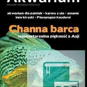 Okładka Magazyn Akwarium czasopismo 4/2015