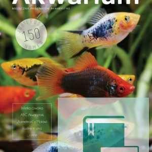 Okładka Magazyn Akwarium czasopismo 6/2015