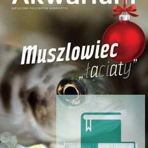 Okładka Magazyn Akwarium czasopismo 11-12/2015