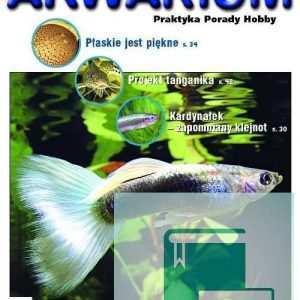 Okładka Magazyn Akwarium czasopismo 8/2006