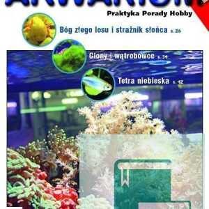 Okładka Magazyn Akwarium czasopismo 1/2007