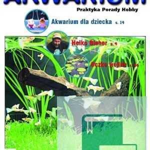 Okładka Magazyn Akwarium czasopismo 3/2007