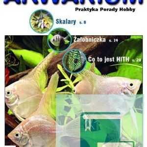 Okładka Magazyn Akwarium czasopismo 8/2007