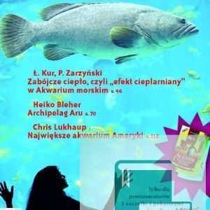 Okładka Magazyn Akwarium czasopismo 11-12/2008