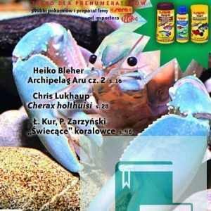 Okładka Magazyn Akwarium czasopismo 1/2009