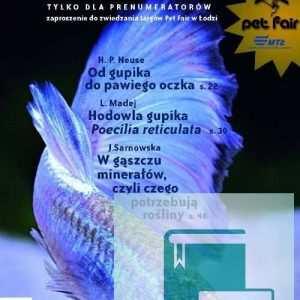 Okładka Magazyn Akwarium czasopismo 4/2009