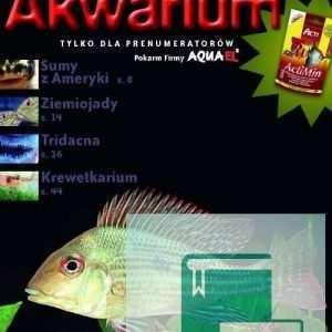 Okładka Magazyn Akwarium czasopismo 5/2009
