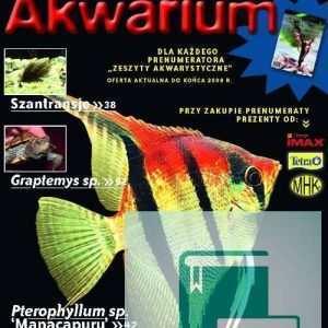 Okładka Magazyn Akwarium czasopismo 11/2009