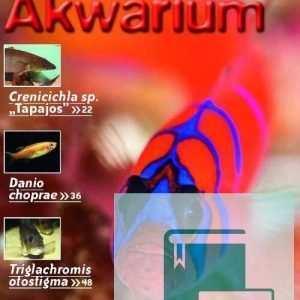 Okładka Magazyn Akwarium czasopismo 1/2010
