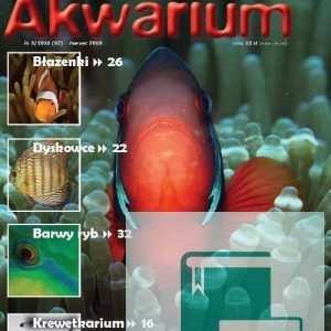 Okładka Magazyn Akwarium czasopismo 3/2010