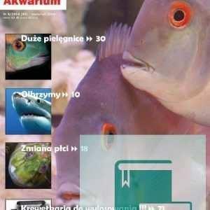 Okładka Magazyn Akwarium czasopismo 4/2010