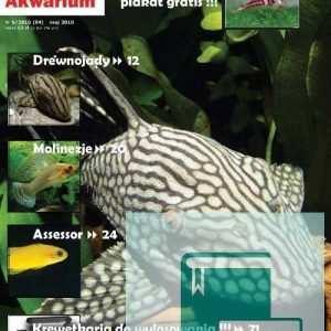 Okładka Magazyn Akwarium czasopismo 5/2010