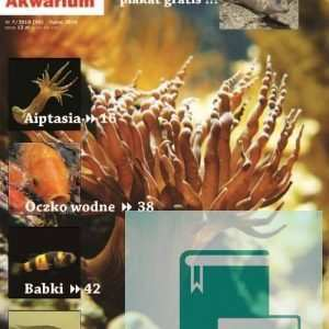 Okładka Magazyn Akwarium czasopismo 7/2010