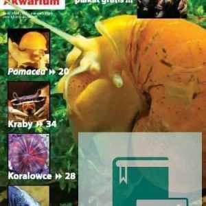 Okładka Magazyn Akwarium czasopismo 8/2010