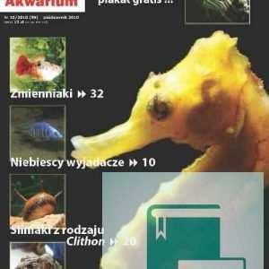Okładka Magazyn Akwarium czasopismo 10/2010