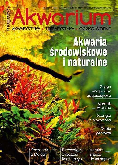 Magazyn Akwarium czasopismo 6/2018