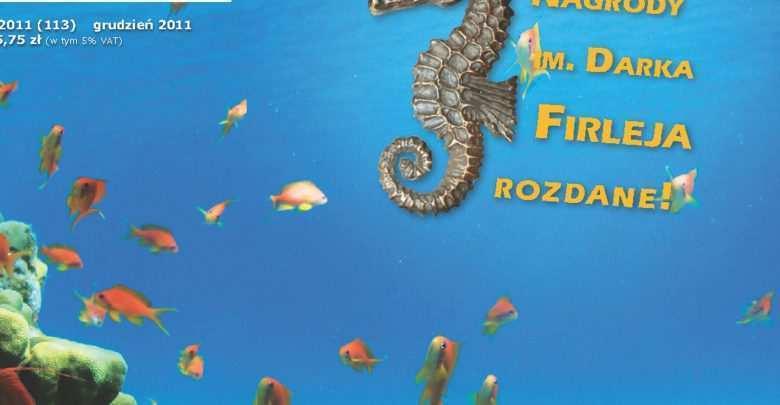 Okładka Magazyn Akwarium czasopismo 12/2011 miesięcznik akwarystyczny