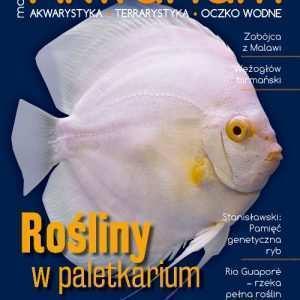 Okładka Magazyn Akwarium czasopismo 1/2018