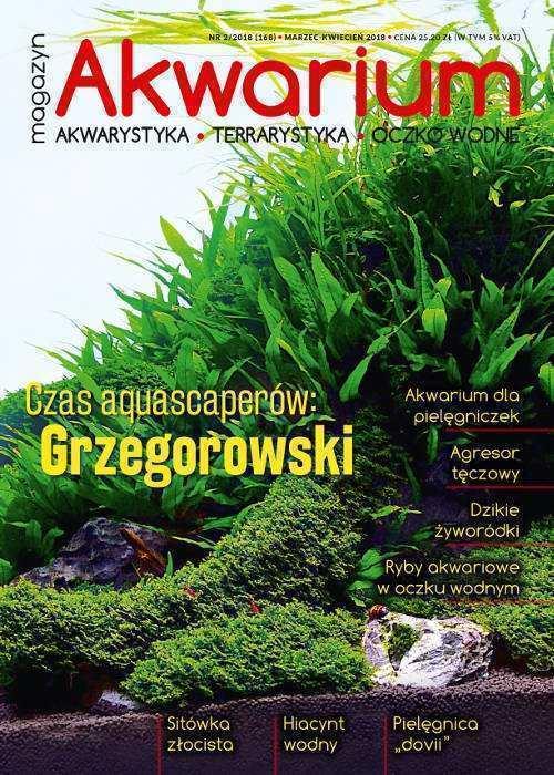 Okładka Magazyn Akwarium czasopismo 2/2018