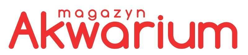 Logotyp Magazynu Akwarium pełnym w prostokącie (800x180 px), format pliku - jpg