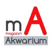 Logotyp Magazynu Akwarium w kwadracie rozmiar mały (180x180 px), format pliku - png