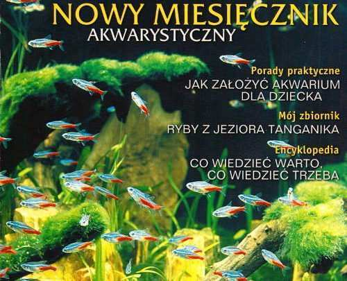 Magazyn Akwarium czasopismo 0/2001