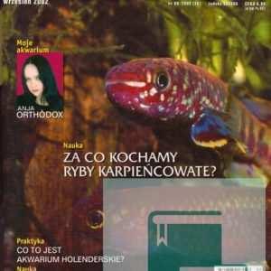Okładka Magazyn Akwarium czasopismo 9/2002