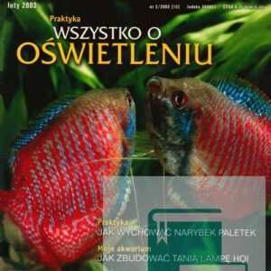 Okładka Magazyn Akwarium czasopismo 2/2003