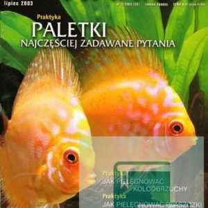 Okładka Magazyn Akwarium czasopismo 7/2003