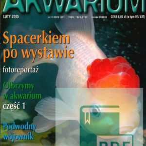 Okładka Magazyn Akwarium czasopismo 2/2005