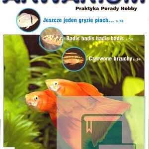 Okładka Magazyn Akwarium czasopismo 4/2006