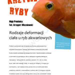 deformacje ciała u ryb