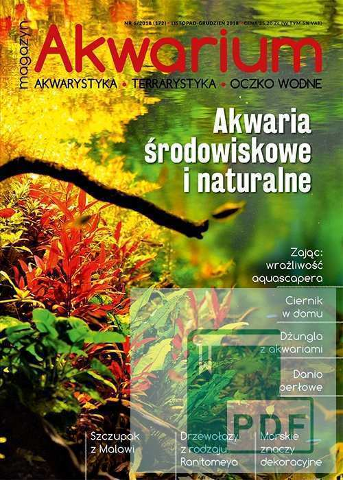 Magazyn Akwarium czasopismo 6/2018 PDF